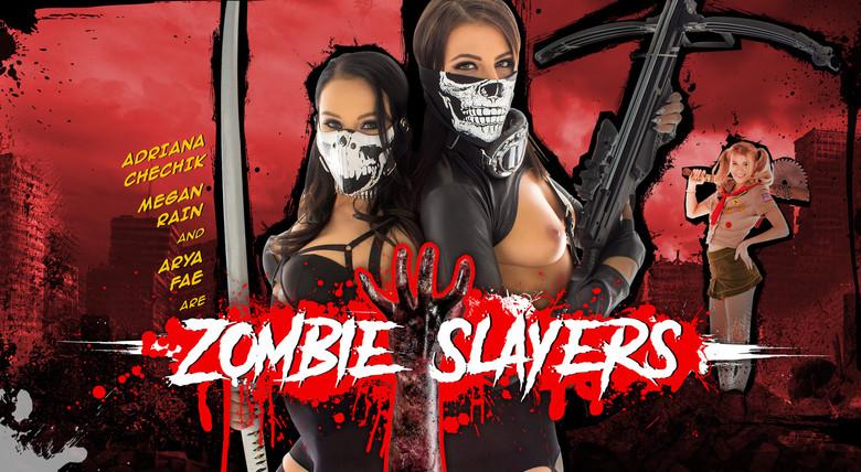 WankzVR Zombie Slayers  Siterip VR XXX 60FPS Occulus , GearVR PORN RIP