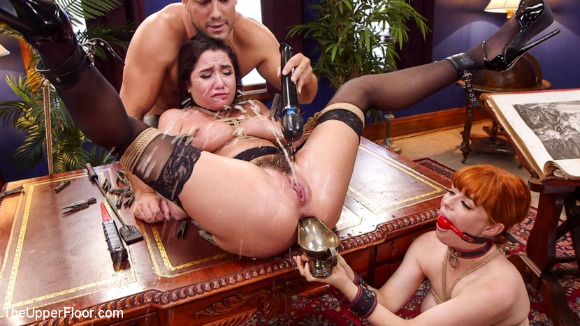 theupperfloor Uptight Babe Submits to Punishment and Squirts Everywhere Nov 15, 2016 Siterip BDSM Kink.com PORN RIP
