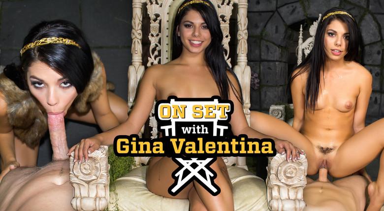 WankzVR On Set with Gina Valentina  Siterip VR XXX 60FPS Occulus , GearVR PORN RIP