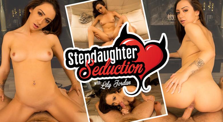 WankzVR Stepdaughter Seduction  Siterip VR XXX 60FPS Occulus , GearVR PORN RIP