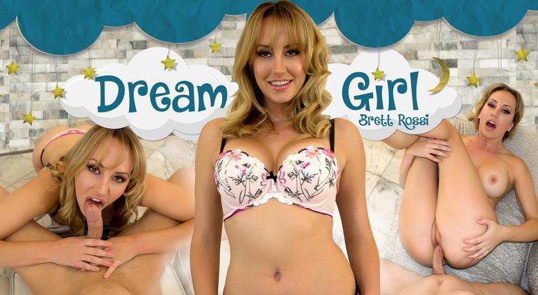 WankzVR Dream Girl: Brett Rossi  Siterip VR XXX 60FPS Occulus , GearVR PORN RIP