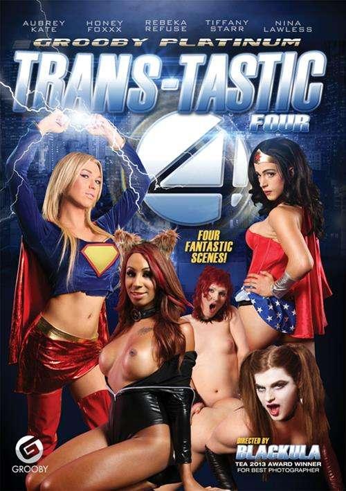 Trans-Tastic Four Grooby  [DVD.RIP. H.264 2016 ETRG 768x460 720p TRANNY XXX] PORN RIP