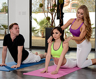 Brazzers Exxtra Yoga Freaks: Episode Seven - Nicole Aniston - Ariana Marie - 1 January 14, 2017 Brazzers Video 1080p MULTIMIRROR 1920x1080 h.264 PORN RIP