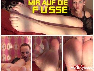 MydirtyHobby WICHS on my FEET mit FetishWorld  AMATEUR XXX GERMAN  H264 AAC  720p PORN RIP