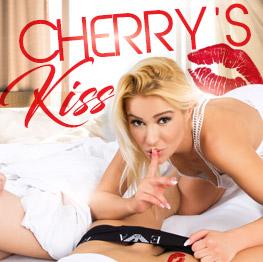 VrBangers Cherry's Kiss  Siterip VR 3980x1980 BINAURAL PORN RIP