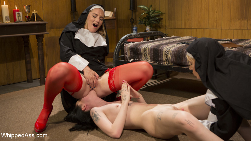 whippedass Anal Initiation: Aspiring Nun Gets Beaten & Fucked! May 11, 2017 Siterip BDSM Kink.com PORN RIP