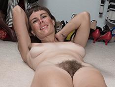 WeareHairy Leila Larson Leila Larson strips naked by her closet [FULL PICSET Highres WEBRIP] PORN RIP