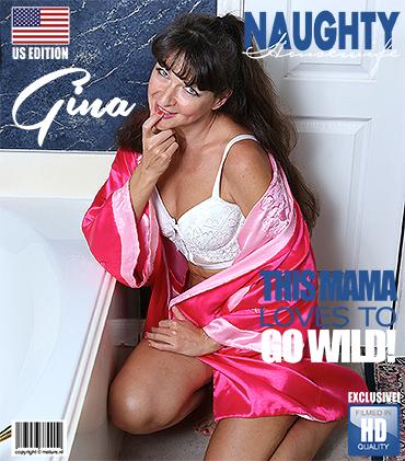 MATURE.NL American housewife Gina getting wet in the bathtub  [SITERIP VIDEO 2017 hd wmv 1920x1200] PORN RIP