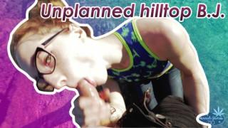 ManyVids HannahJames710 Unplanned hilltop blowjob  Web-DL Clip XXX PORN RIP