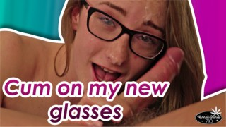 ManyVids HannahJames710 Cum on my new glasses  Web-DL Clip XXX PORN RIP