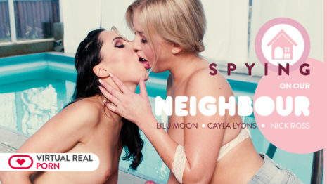 Virtualrealporn Spying on our neighbour  (32:25 min.)  Web-DL VR XXX PORN RIP