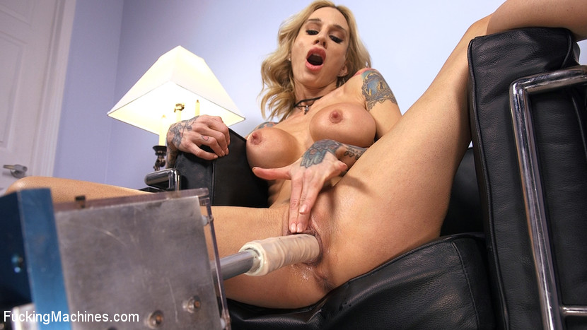fuckingmachines Blonde MILF has Machine Sex for the First Time  May 23, 2018[Kink.com]  Siterip BDSM h.264 PORN RIP