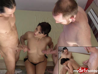 MydirtyHobby Her 1 threesome 2x 25cm fucked !!! Amateursta…  Video  GERMAN  H264 AAC  720p PORN RIP