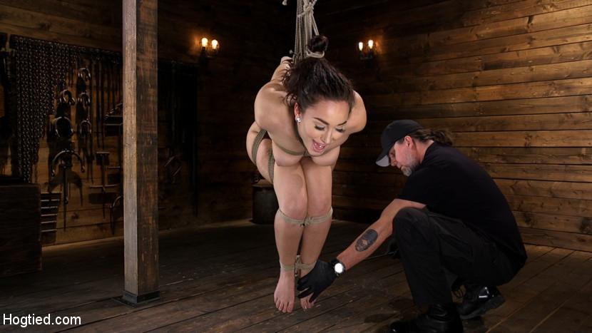 hogtied Curvy Slut Gabriella Paltrova in Grueling Rope Bondage and Tormented Feb 28, 2019[Kink.com]  Siterip BDSM h.264 PORN RIP