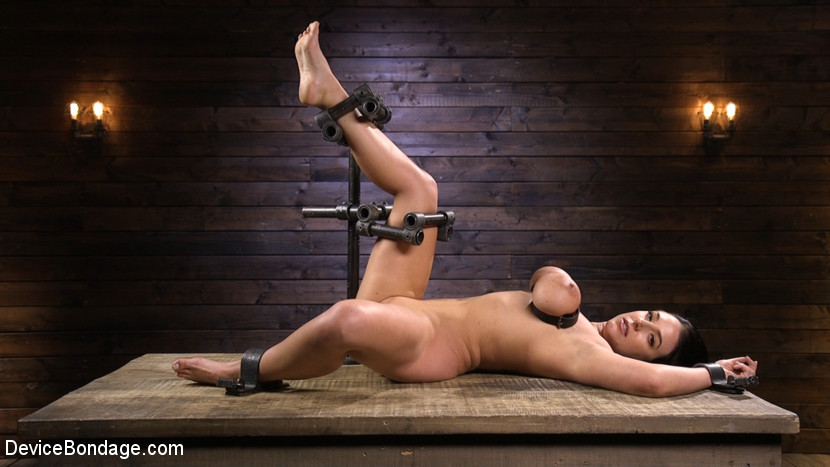 devicebondage Angela White Begs to Suffer For Her Master in Metal Bondage Mar 7, 2019[Kink.com]  Siterip BDSM h.264 PORN RIP